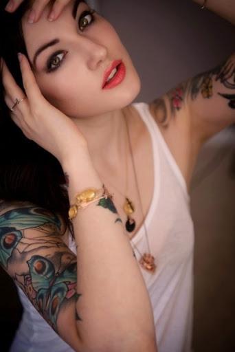 Hot Girl Tattoos