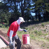 IVLP 2010 - Volunteer Work at Presidio Trust - 100_1425.JPG