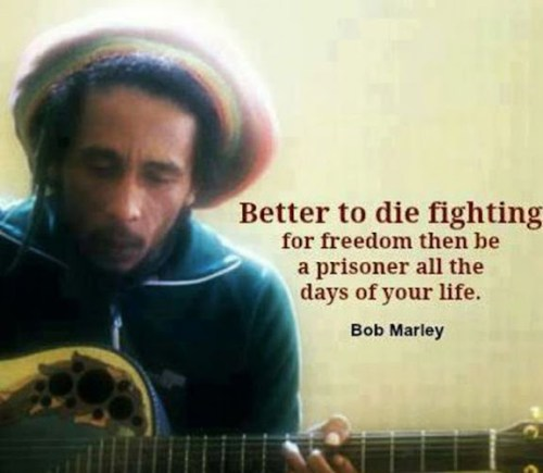 bob marley quotes being strong