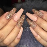 Top gold nail art designs 2017