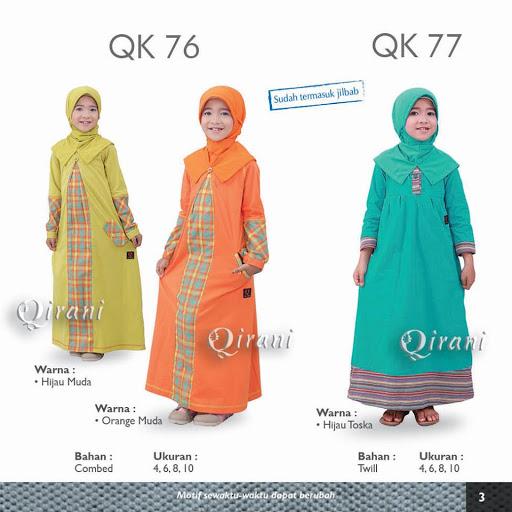 Baju Qirani Model Terbaru