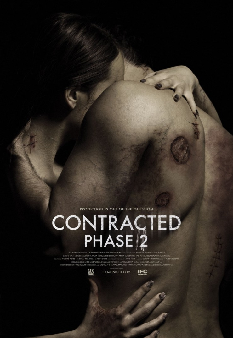 Infecção se espalha no novo poster Contracted: Phase II