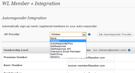 Integración con Email Marketing Software