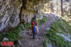 Osos cavernarios huyendo ©aunpasodelacima