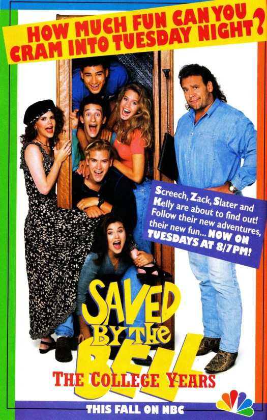 STARLOGGED - GEEK MEDIA AGAIN: 1993: SAVED BY THE BELL ...