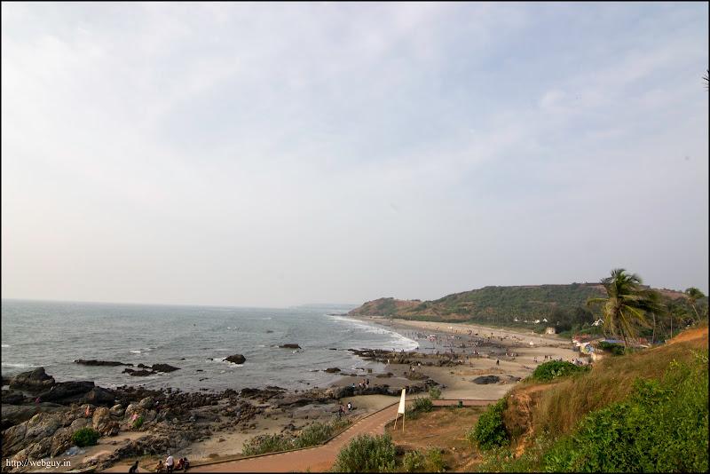 The Vagator Beach - Goa
