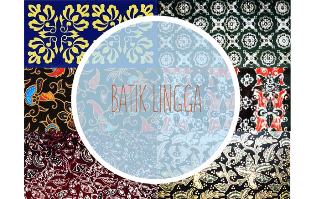 berbagai motif batik Lingga