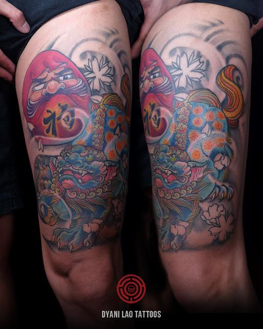 Daruma - Dyani Lao Tattoos and Art