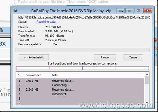 trik cepat mendownload file torrent dengan idm