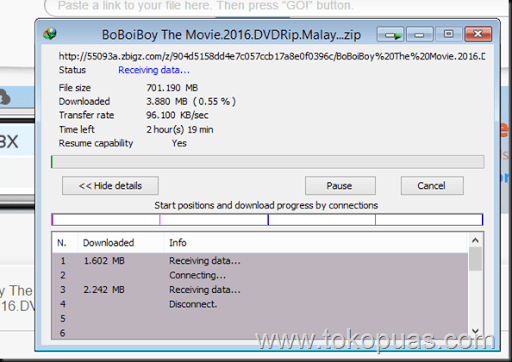 trik cepat mendownload file torrent dengan idm