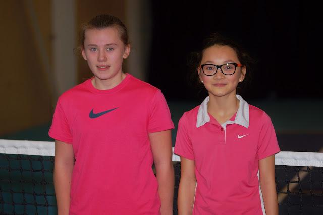 finale tussen Lindsey Louagie en Julie Vancauwenberghe eindigde op 7-6 en 7-5 voor Lindsey Louagie