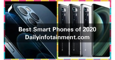 Best Mobiles of 2020. Do you have any of These Top rated Smart phones?