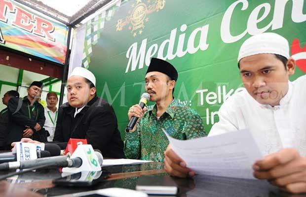 KH Muhammad Idrus Ramli Deklarasi Pencalonan Ketua Umum PBNU 2015-2020