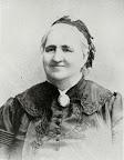 """Auguste Schmidt, die """"Seele der deutschen Frauenbewegung"""" (* 3. August 1833 in Breslau; † 10. Juni 1902 in Leipzig) wohnte lange Zeit in der Lortzingstr. 5."""