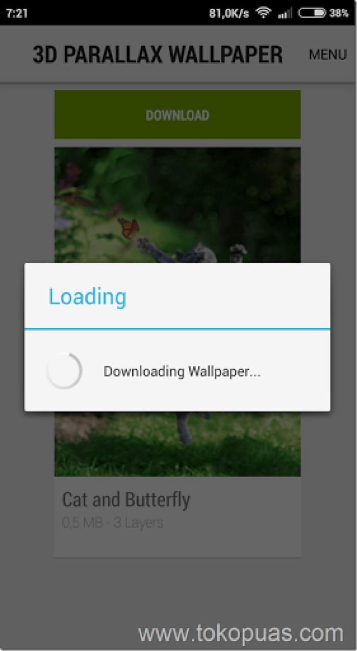 cara mudah membuat wallpaper 3d di android