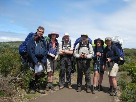 Perth Bushwalkers Walk End - Cape to Cape Track at Cape Naturaliste