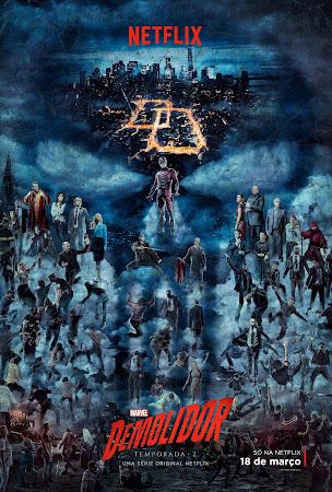 Demolidor | Netflix divulga trailer, poster e data de estreia da segunda temporada da série 'Daredevil'