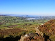 Looking Across The Valley From The Roaches Ridge