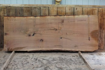 "471 White Oak -5 2 1/2 "" x 52"" x 48"" Wide x 10' Long"