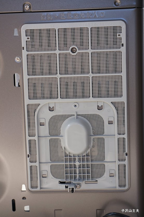 トヨトミ LC-32E背面