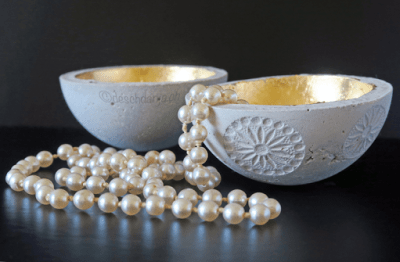 gold plated bowls
