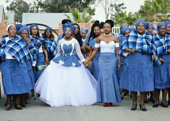 2018 ... Shweshwe Inspired Wedding Dresses