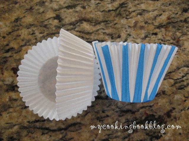 ниски и високи хартиени формички за кексчета