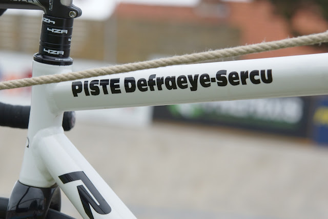 fiets wielerpiste Defraeye-Sercu Rumbeke