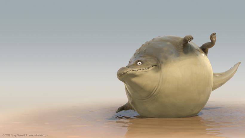 *非洲大草原野生「胖」動物:像顆彈力球Q彈有勁! 9