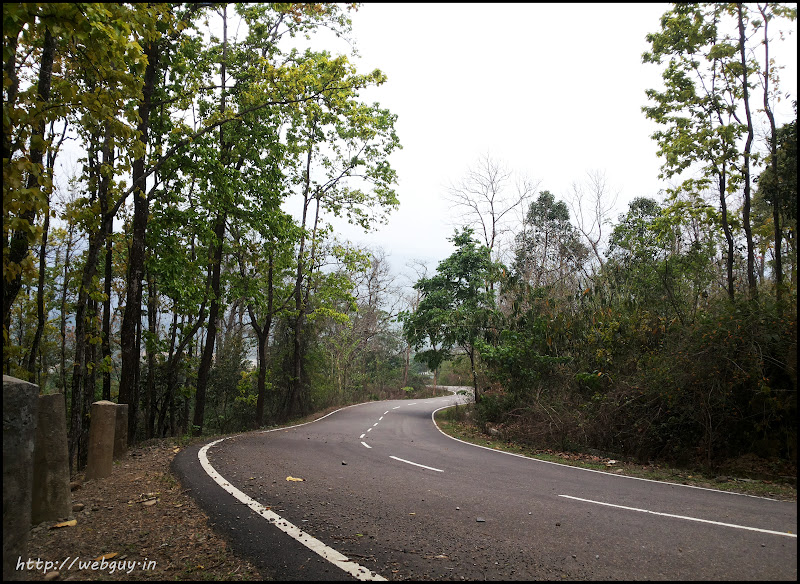 This is how the road looks - Silchar-Haflong Road photo