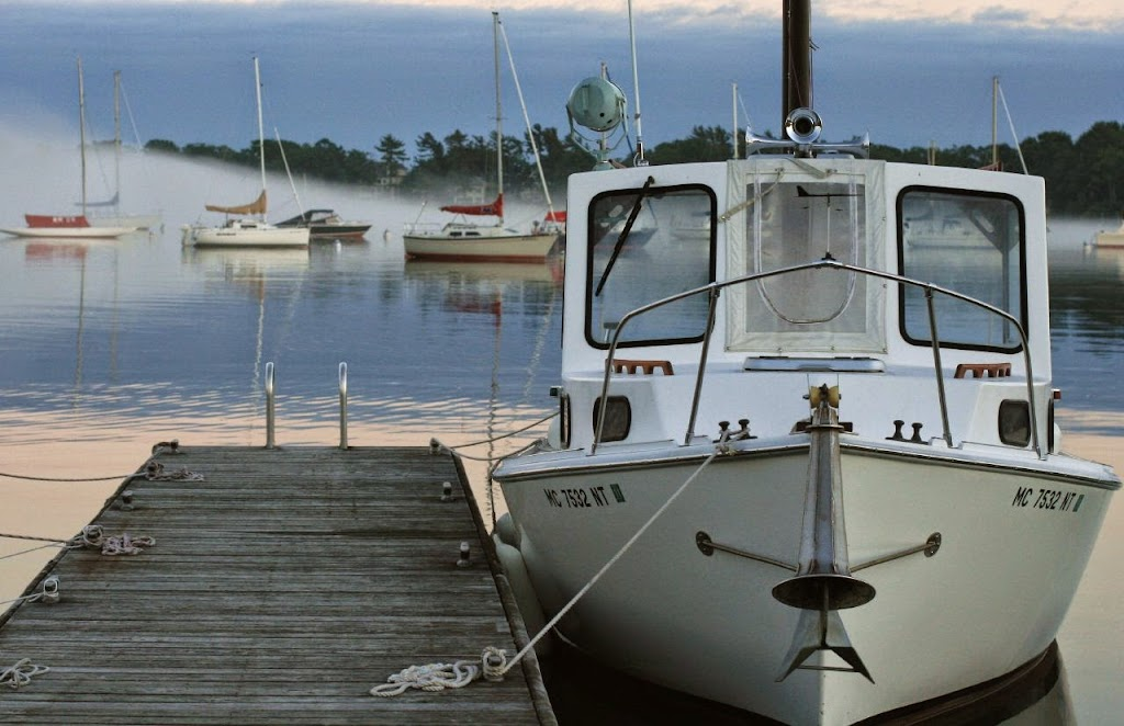 boat at dock