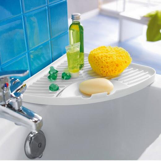Ordenar, organizar y ganar espacio en el baño.