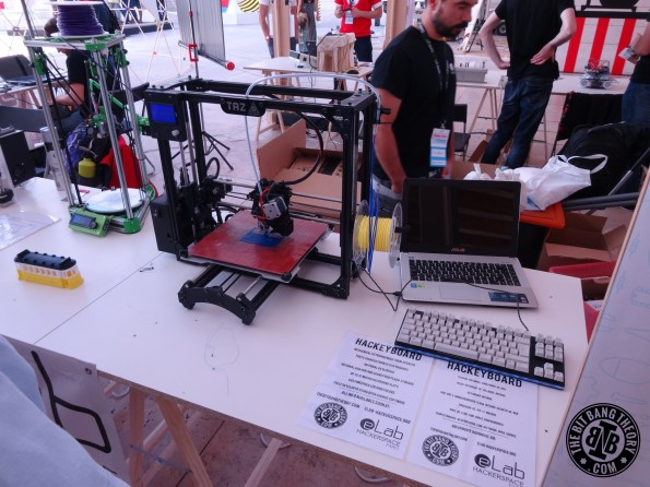 Hackeyboard Lisbon Maker Faire 2015