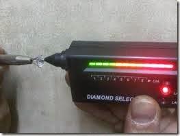 alat pendeteksi keaslian berlian diamond 1