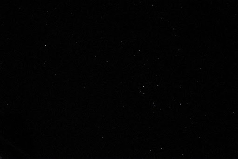 Canon L 25mm f16/ぼんやり撮った野間の星空とりあえず星がいっぱい観れた