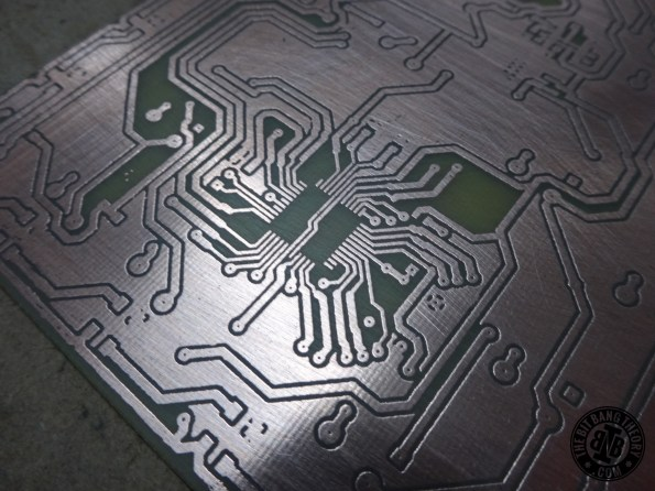Hackeyboard PCB making