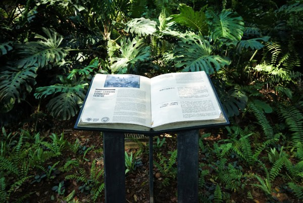 Fort canning park history