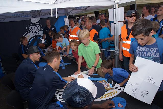 signeersesie Club Brugge