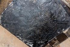The stolen Dendera zodiac, original is in the Louvre