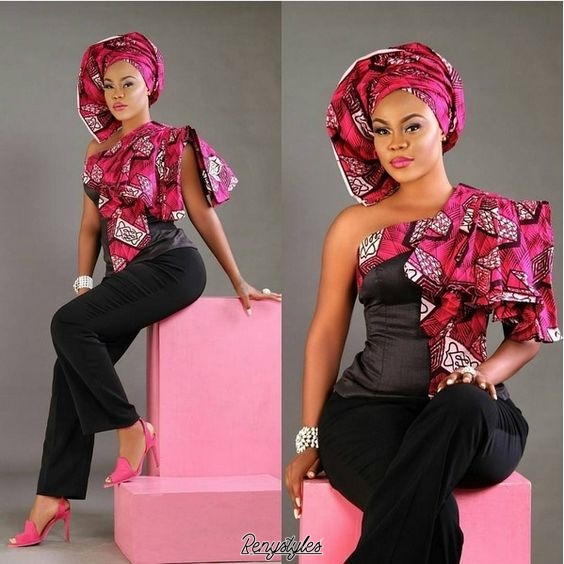 Latest African Dresses Ankara Gown and Pistis Ghana - Reny styles