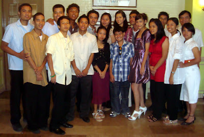 April 4: Second Year Batch 2009-2010 Deaf Students