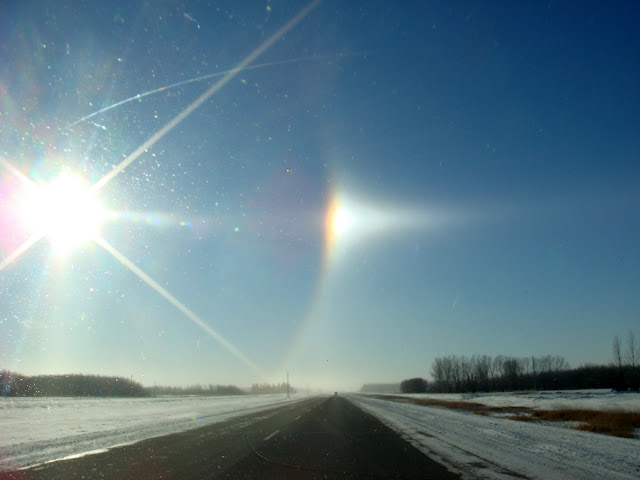 Sun Dogs in Manitoba