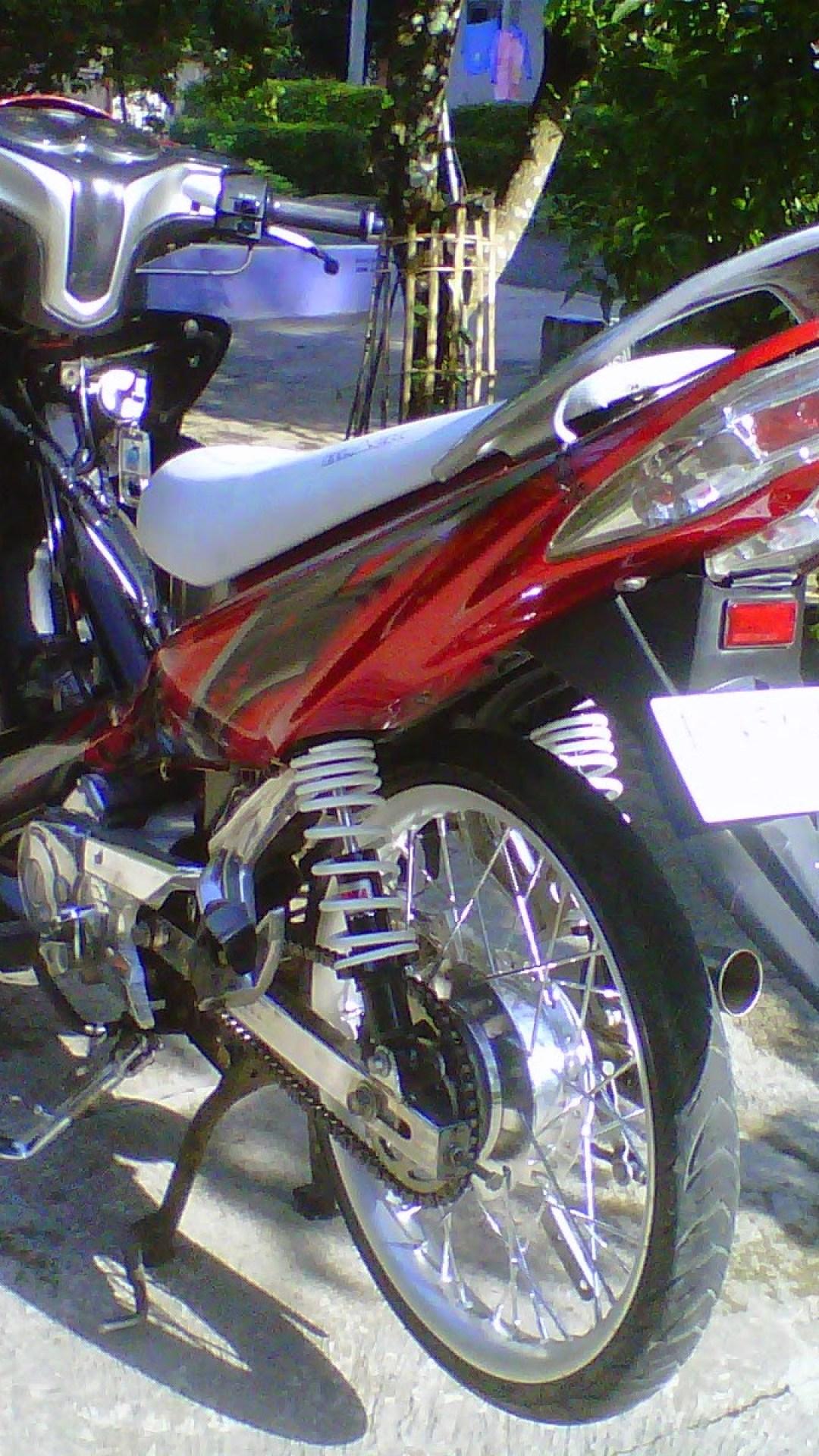 Modifikasi Motor Z1 Arena Modifikasi