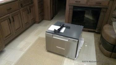 2013 Entegra Aspire Fisher Paykel Dishwasher Installation