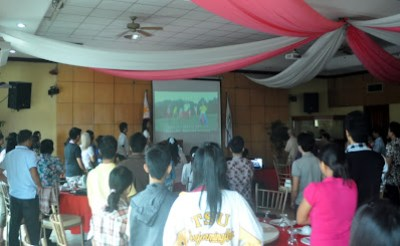 Video Presentation of Philippine National Anthem popularized by MCCID Students Batch 2010