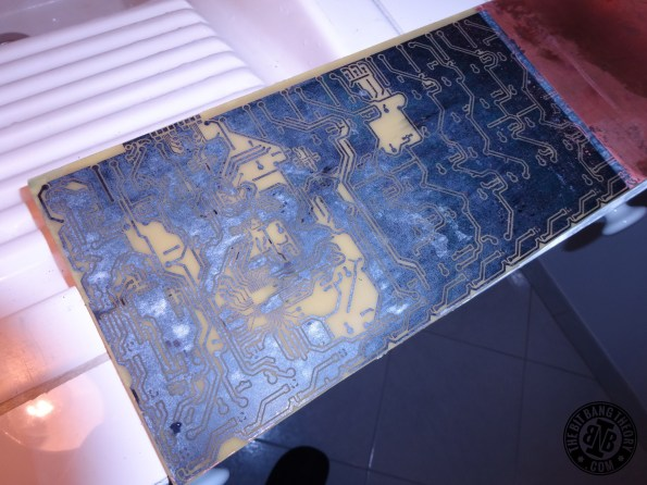 HacKeyboard PCB etching