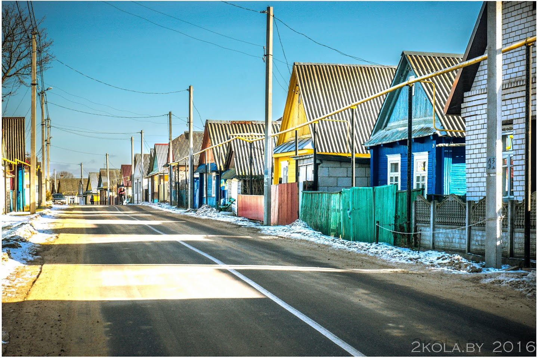 улица аг. Рубежевичи