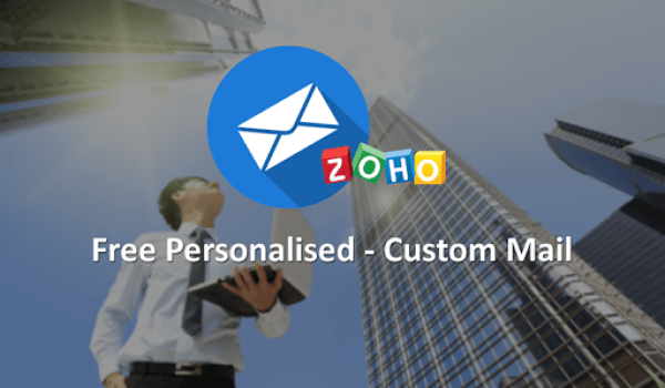 How To Create Free Personalised Email Address Using Zoho