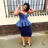 Shweshwe Dresses 2018  You Must Love