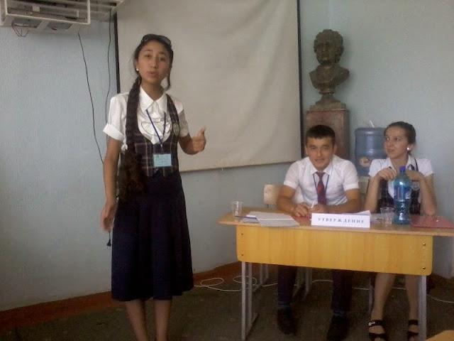 Команда школы Нур